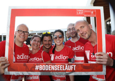 ADLON goes fit: Firmenlauf-Team